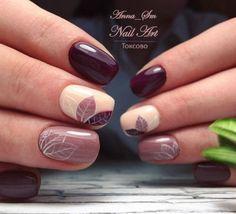 Semi-permanent varnish, false nails, patches: which manicure to choose? - My Nails Fall Nail Art Designs, Beautiful Nail Designs, Stylish Nails, Trendy Nails, Nagellack Trends, Pretty Nail Art, Nagel Gel, Super Nails, Flower Nails