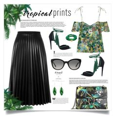 """""""Hot Tropics (Top Fashion Set 24/06/2016)"""" by southindianmakeup1990 ❤ liked on Polyvore featuring MANGO, Gucci, Aviù, Pierre Hardy, Burberry, Aurélie Bidermann and Good Charma"""