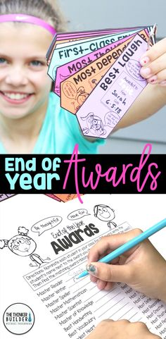End of the year awards in a fun and fresh ribbon design. Students get to give every one of their classmates an award, and then get take home all the awards their peers gave to them! (And spoiler alert, giving the awards is as much fun as getting them!) 40 categories, blackline and color, small and large, helpful forms, ALL included. ($)