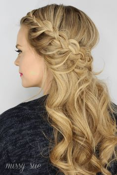 Half Up Lace Braids | Braid 5