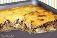 PANELATERAPIA - Blog de Culinária, Gastronomia e Receitas: Moussaka