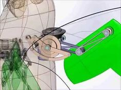 Flapping Wing Mechanism - YouTube