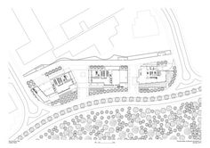 Richard Meier Designs New W Hotels in Mexico,W Santa Fe - ground floor plan