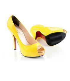 zapatos amarillos. Zapato casual. Productos Bohochic.