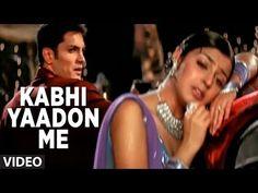 Kabhi Yaadon Me Aau Kabhi Khwabon Mein Aau - Full Video Song by Abhijeet (Tere Bina) - YouTube