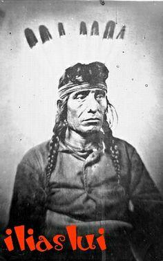 Cut Nose,Poge Baksa,Dakota Mdewakanton.1869