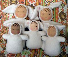 bunnies by auntboosbabies, via Flickr