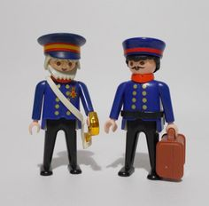 Playmobil 5405 Victorian Police General With Aide Aid Guards Figures 1990 #PLAYMOBIL