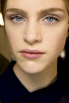 Backstage Beauty: Hair & Make-Up Spring Summer 2014 (Vogue.com UK), au natural look, bridal inspiration, www.makeupbyjodie.co.uk
