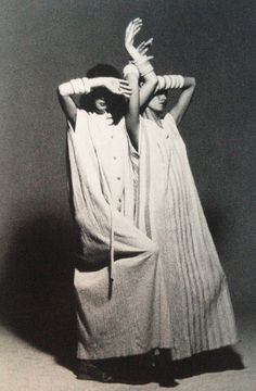 1975 - Issey Miyake dresses