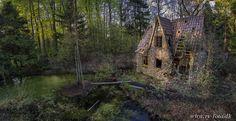 Flintehuset, sommerhus, forladt hus på Djursland