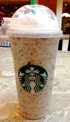 banana chocolate chip frappuccino