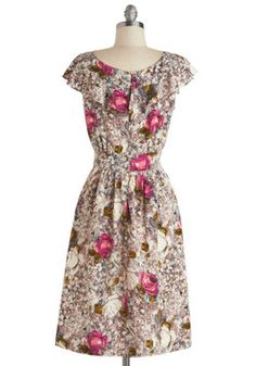 Get What You Dessert Dress in Rose, #ModCloth
