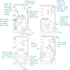 Rectangular Living Rooms, Narrow Living Room, Living Room Plan, Living Room Floor Plans, Small Living, Narrow Family Room, Long Narrow Rooms, Living Dining Combo, Family Rooms