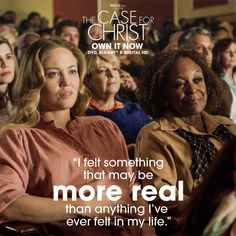 Based on bestselling true story, The Case For Christ is for everyone who has ever pondered the existence of God. Christian Movies, Christian Women, Faith Based Movies, Case For Christ, Jesus Is Alive, Godly Dating, Christ Quotes, Inspirational Movies, Unconditional Love
