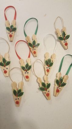 30 crazy diy projects to reuse clothespins diy crafts decor home 470415123578132459 Christmas Ornament Crafts, Christmas Crafts For Kids, Homemade Christmas, Christmas Projects, Kids Christmas, Holiday Crafts, Christmas Decorations, Christmas Clothes, Snowman Ornaments