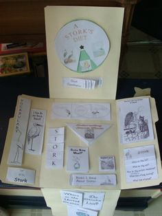 Storks Free Unit Study and Lapbook.  This was a good one, and it went well with The Wheel on the School.
