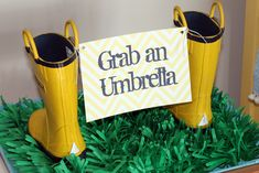 "Cute idea for Women's Ministry ""Singing in the Rain"""
