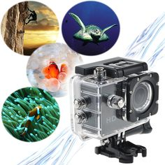 SJ4000 Waterproof Sports DV 720P HD Video Action Camera Video Camcorder Web camera  12-megapixel HD wide-angle lens  water-resistant up to 30 meters under water
