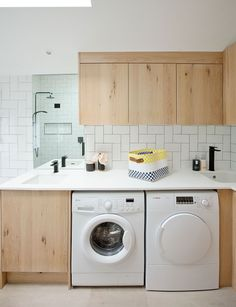 Laundry room design with the ultimate combo of style and function