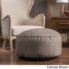 living room poufs - Google Search