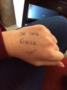 #JesSuisCharlie #NousSommesCharlie #CharlieHebdo