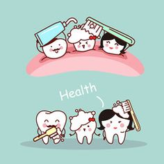 Happy cartoon tooth family Dental Health Month, Dental Life, Dental Art, Humor Dental, Dental Hygienist, Dentist Cartoon, Dental Photos, Cartoon Photo, Happy Cartoon
