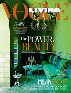 Interior Design Magazines Vogue Living July August 2015