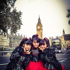babymetal_jpn  We came back to London! See U at O2 Academy Brixton on Nov 8th tomorrow!