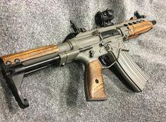 """cerebralzero: """" Custom AR-15 SBR. """""""