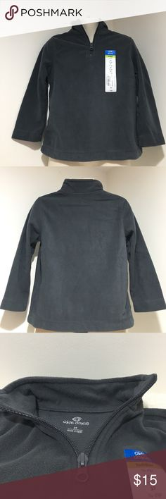 """NWT Boys 3T Okie Dokie 1/4 Zip Gray Fleece Jacket NWT """"petrol gray"""" color 100% polyester 1/4 zip Pullover fleece jacket comes from a smoke & pet free home thanks for visiting my closet HAPPY POSHING💕 okie dokie Jackets & Coats"""