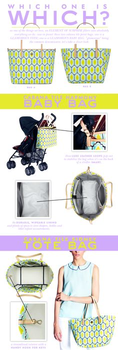 #dresscolorfully baby bag or tote?