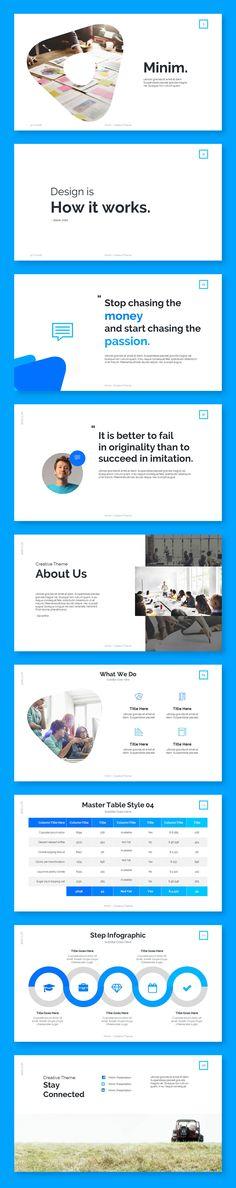 "Check out my @Behance project: ""Minim. Presentation Template"" https://www.behance.net/gallery/46449477/Minim-Presentation-Template"