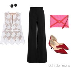 Farting around at the Country Club, created by robinplemmons on Polyvore