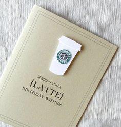 Birthday Card Funny Birthday Card Coffee by KeyLimeCards on Etsy, $4.99
