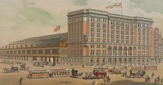 Reading Terminal, seen here circa 1891, is now home to one of America's great markets. It's a feast for the senses on the Munch Around the Market Scavenger Hunt.