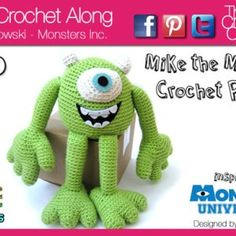 *Need to go to 'Crochet Crowd' Facebook  page for this one* Who's in Your Closet Mystery Crochet Along