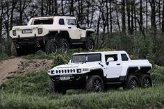 Hatkerekű Hummer-klónt építettek a csehek Hummer H2, Range Rover Evoque, Range Rovers, Auto Motor Sport, International Scout, Jeep Wrangler Rubicon, American Motors, Rc Trucks, Land Rover Discovery