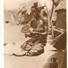 "Duncan Clarke on Instagram: ""Women spinning cotton, Kano,  Nigeria, early C20th. Vintage postcard @adireafricantextiles collection. Most but not all cotton spinning in…"" African Textiles, Spun Cotton, African Art, Spinning, Prints, Vintage, Collection, Instagram, Women"