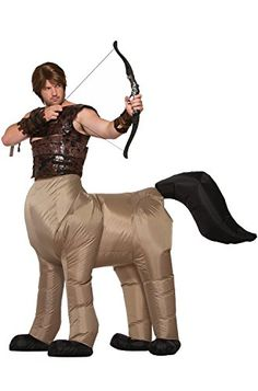 99f0d66a89417 Forum Novelties Inflatable Centaur Costume for Adults - One Size