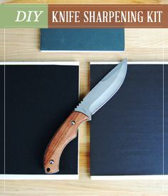 DIY Knife sharpening kit with step by step tutorial. | http://pioneersettler.com/diy-knife-sharpening-kit/