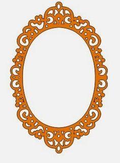 DXF Plans Downloads - Mirror frame
