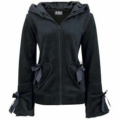 Poizen Industries Alice Hood Lace Black Ladies Girls Fleece Goth Emp Punk in Clothes, Shoes & Accessories Punk Outfits, Gothic Outfits, Cool Outfits, Pullover Hoodie, Sweater Hoodie, Fleece Hoodie, Punk Fashion, Gothic Fashion, Fashion Black