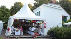 Die perfekte Hochzeits-Location mit Deko!