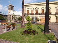 Jardín de la Reforma en el Centro Histórico de Guadalajara.