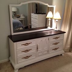 awesome make over.  Thinking of doing this to a dresser to use as our entertainment center