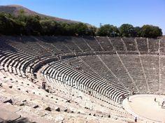 Αρχαίο Θέατρο Επιδαύρου (Epidaurus Ancient Theatre) en Αργολίδα, Αργολίδα