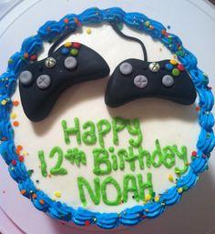 Xbox remote cake