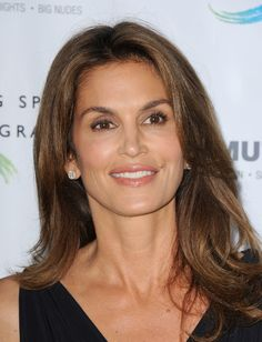 Cindy Crawford - Celebs at the Annenberg Space Exhibit — Part 2