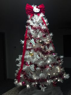 Hello Kitty Christmas    #hello kitty christmas tree #christmas tree #hello kitty
